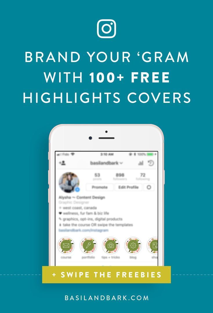 how to brand your instagram account with highlights covers | Gain instagram  followers