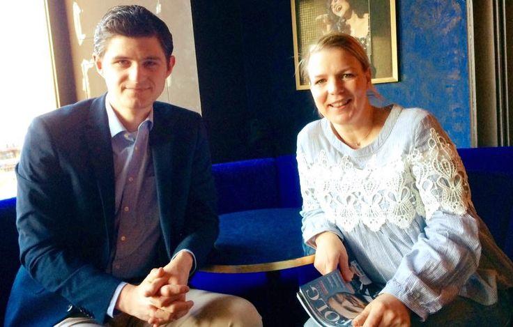Julien Backhaus und Mirja Boes