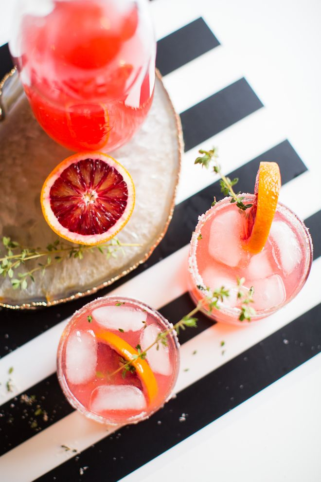 Blood Orange & Thyme Paloma