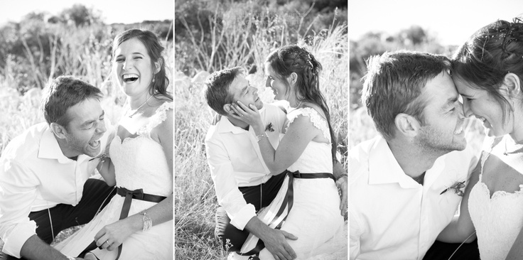 Black and white wedding portraits | image by Michelle Joubert-Martin Photography