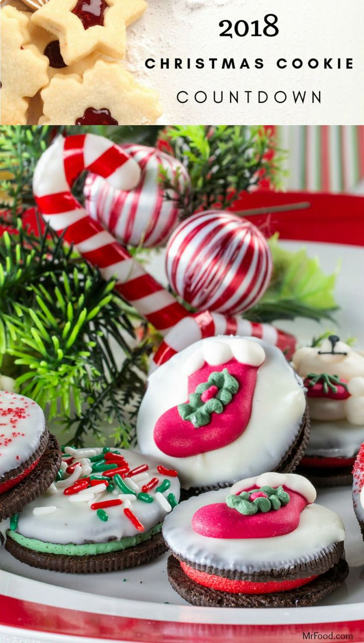 2018 Christmas Cookie Countdown Christmas cookies
