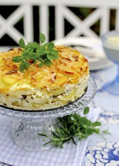Perfekt recept på potatiskaka - god som den är eller till oxfilé, fläskfilé eller rostbiff till nyår.