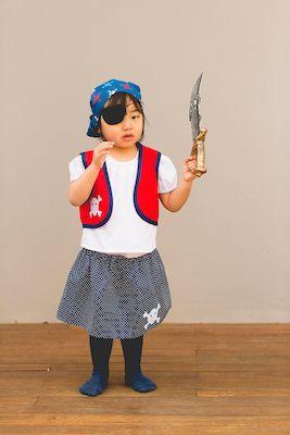 Pirate Girl Costume - Dress Ups Kids