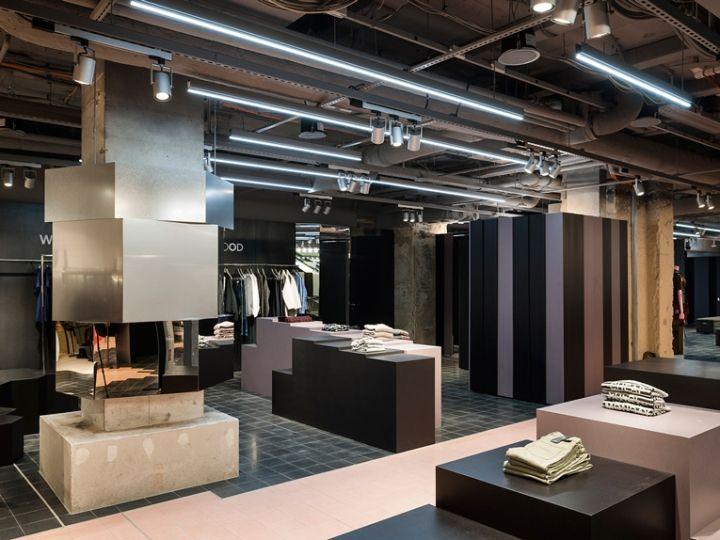 Oberpollinger Department Store Renewal By Gonzalez Haase Munich Germany Retail Design Blog