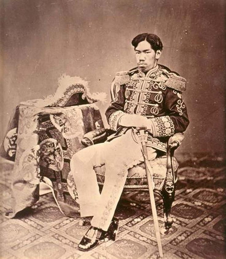 Emperor Meiji, 3 November 1852 – 30 July 1912), or Meiji the Great (明治大帝 Meiji-taitei?), was the 122nd emperor of Japan according to the traditional order of succession, reigning from 3 February 1867 until his death. He presided over a time of rapid change in Japan, as the nation rose from feudal state to world power. His personal name was Mutsuhito.