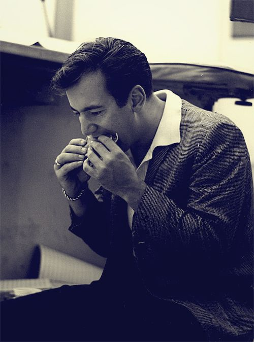 Bobby Darin was well known for his unusually vigorous sandwich eating.
