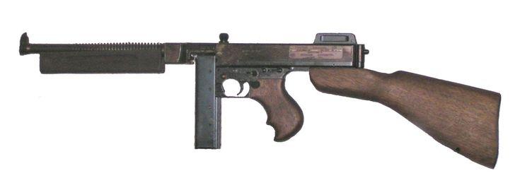 Ametralladora Thompson M1928 A1