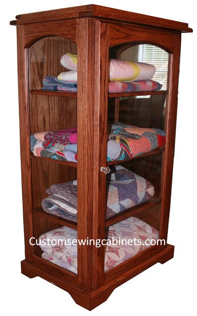 22 best quilt display case cabinets images on Pinterest