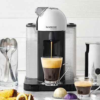 NESPRESSO VertuoLine Coffee and Espresso Maker Bundle White $159.95 (Compare elsewhere $200) FREE SHIPPING OR PICK UP - GET 15% OFF AT CHECKOUT! ENTER PROMO CODE: HARVEST 16
