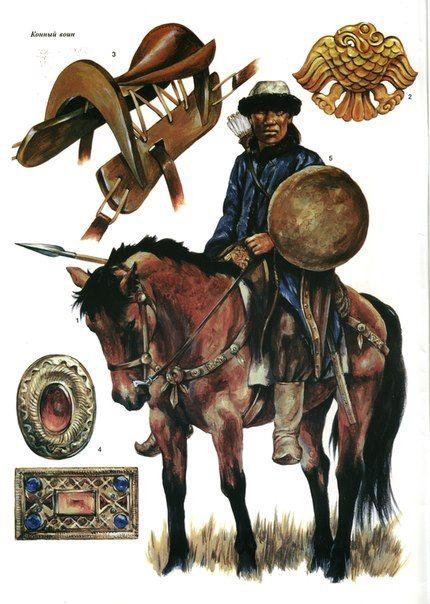 Hun horseman