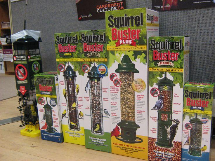 A selection of bird feeders. Courtesy of Brome Bird Care