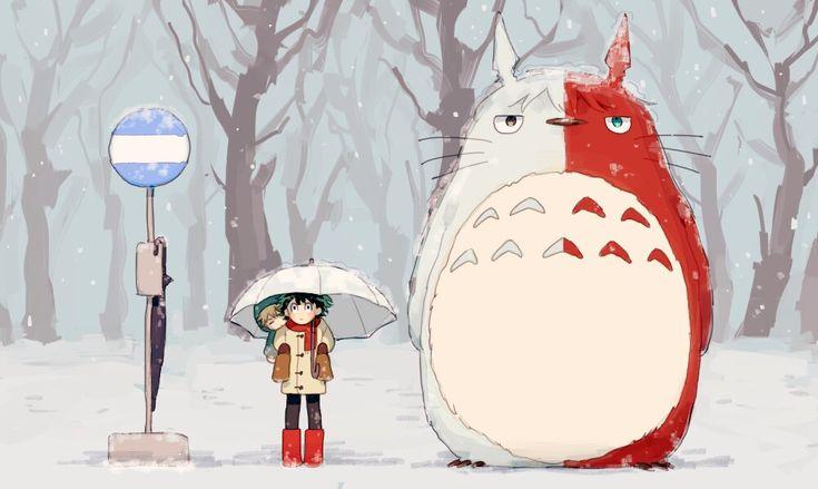 Mein Held Academia x Mein Nachbar Totoro