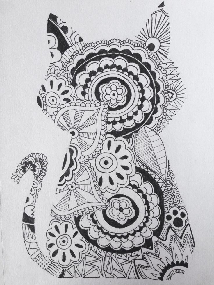 free zen animal coloring pages - photo#47