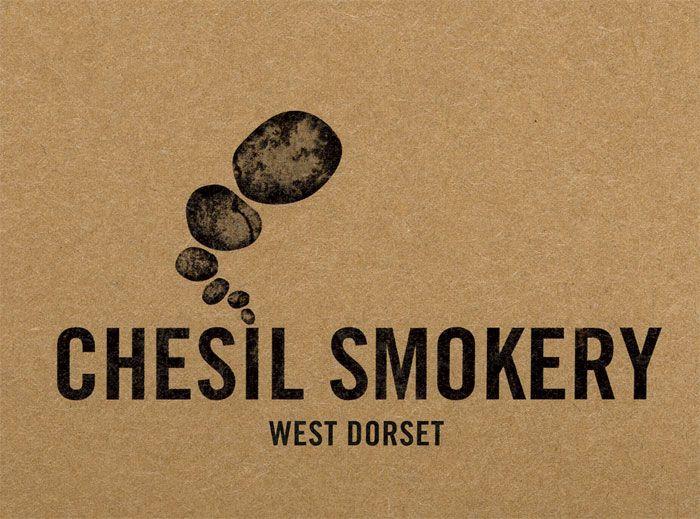 Chesil Smokery logo (designed by Big Fish)