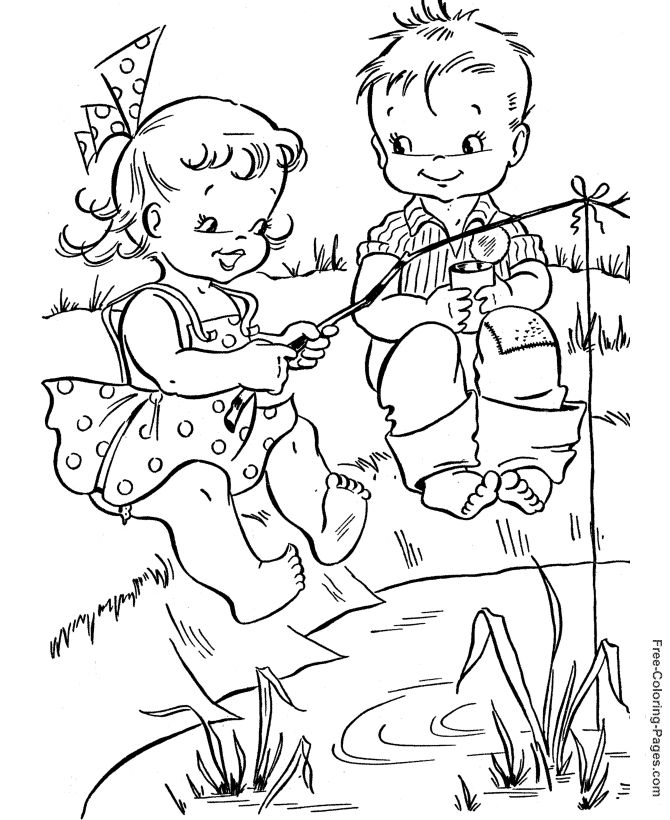 Kids Coloring Fun | Coloring Pages | 820x670