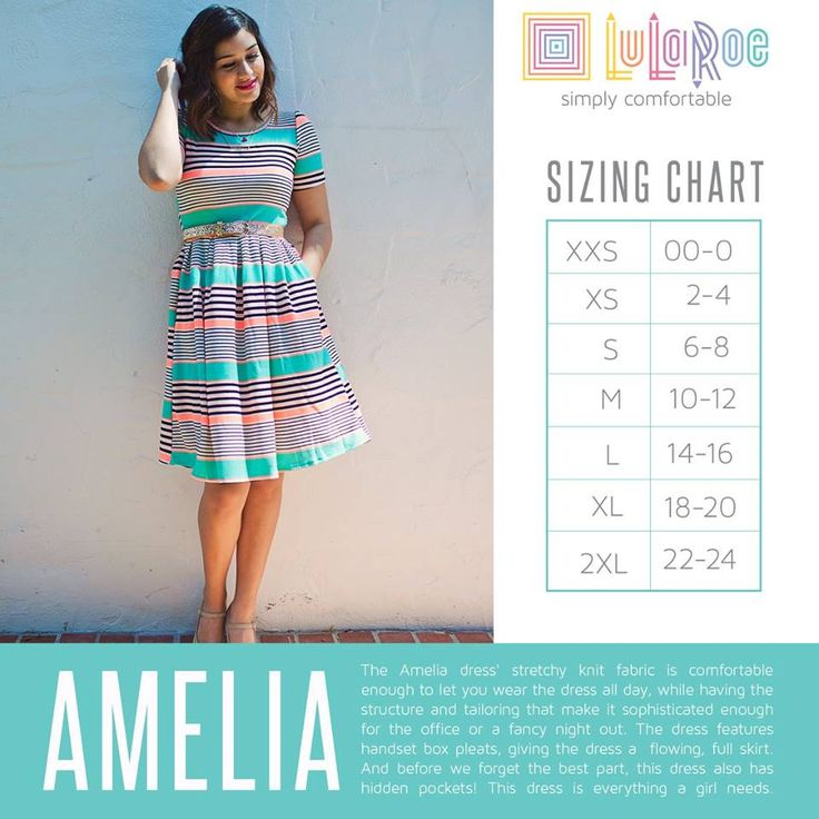 Lularoe Amelia Dress Sizing Chart Lula Love 3 Amelia Dress