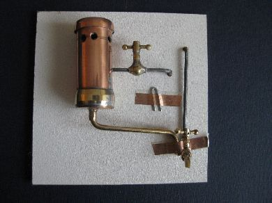 Copper water geyser