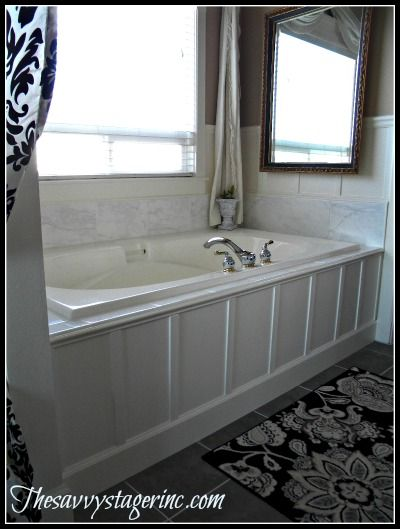 Updated Our 90 S Bathtub In One Weekend With Less Than Bathroom Ideas, Diy,  Home Decor, Tiling, The Entire Project Took One Weekend And Cost Around 200