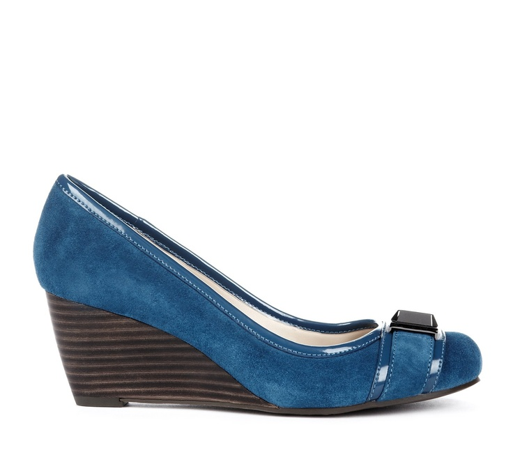 {the Margaret wedge} pretty in blue