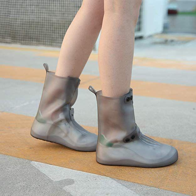 3ef4e6041eaba Amazon.com | Pastaza Waterproof Shoes Covers for Womens Mens Non ...