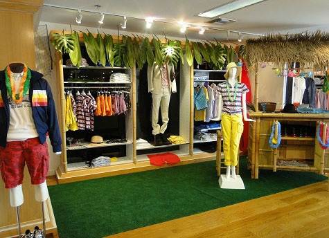 Gant by Michael Bastian concept shop at Ron Herman Melrose