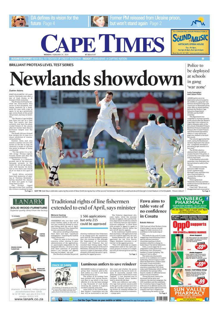 News making headlines: Newlands showdown