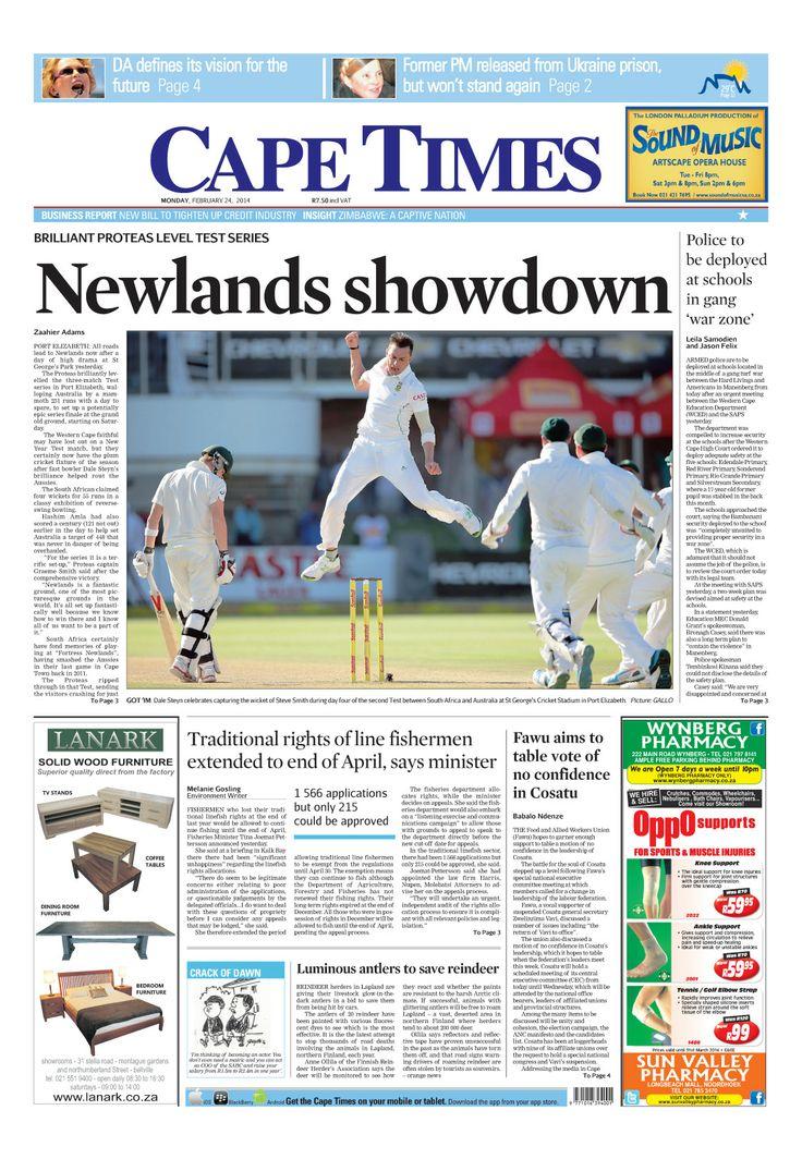 News making headlines: Newlands showdown