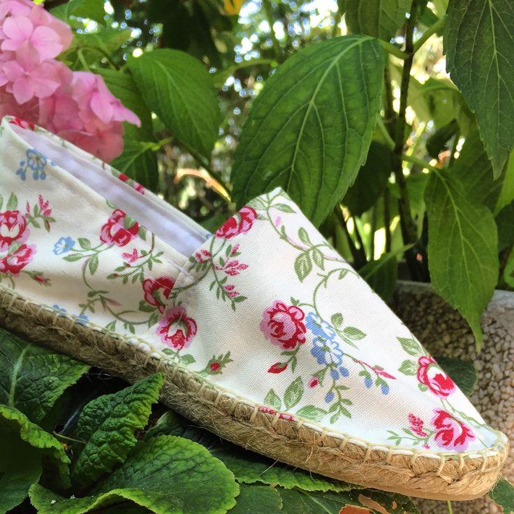 #flores #alpargatas #espadrilles #handmade