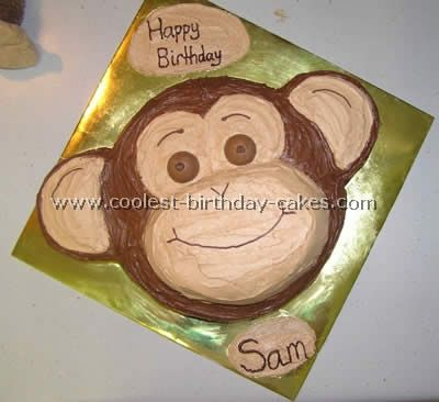295 best Monkey Cakes I Love images on Pinterest Monkey cakes