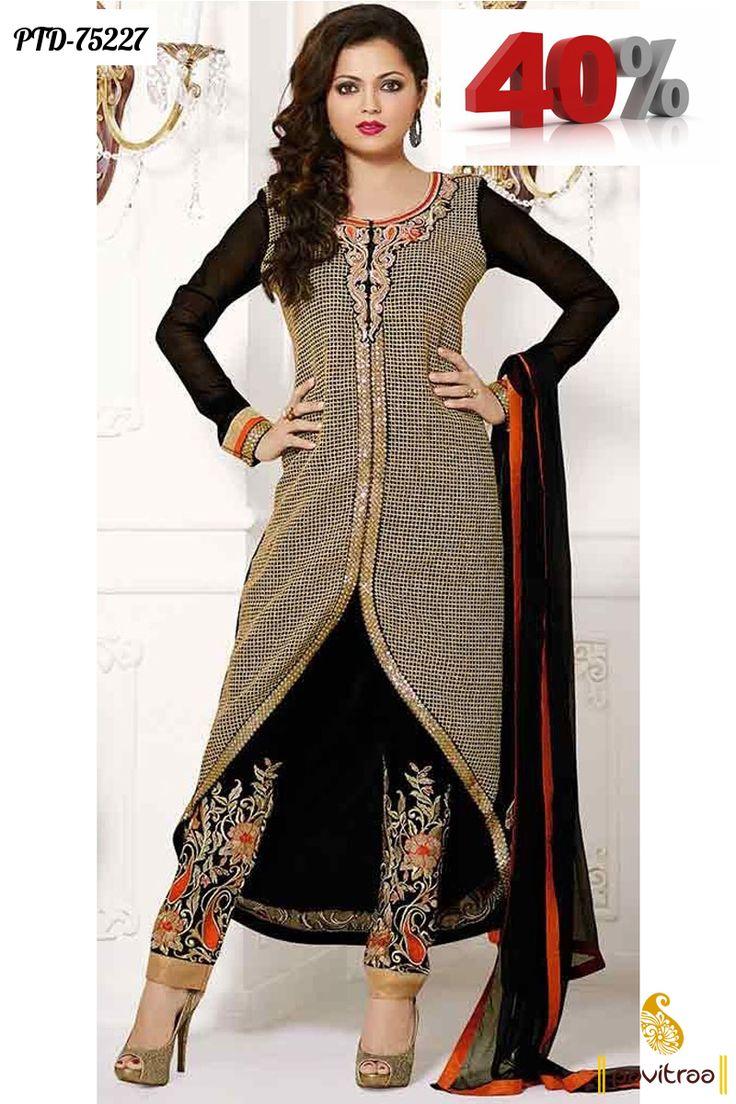 designer madhubala strightcut salwar suit online collection #salwarsuit, #designerdress #strightcutdress more: http://www.pavitraa.in/catalogs/latest-designer-salwar-kameez-and-dresses-collection/