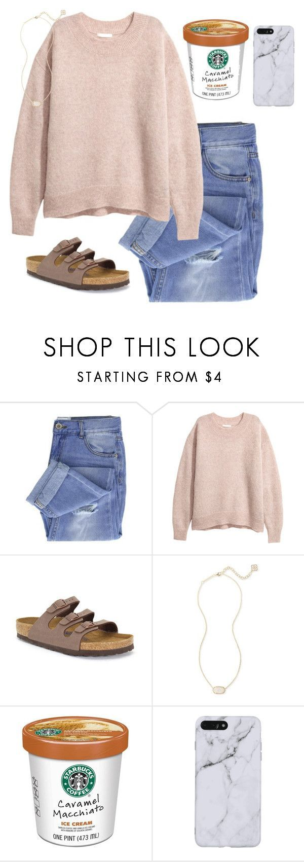 """~ pretty ~"" by southern-preppster on Polyvore featuring Taya, Birkenstock and Kendra Scott"
