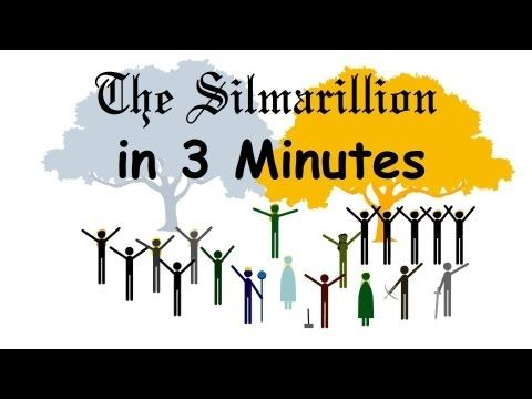 The Silmarillion In Three Minutes: A Condensed Version of JRR Tolkien's History of Middle-earth - YouTube