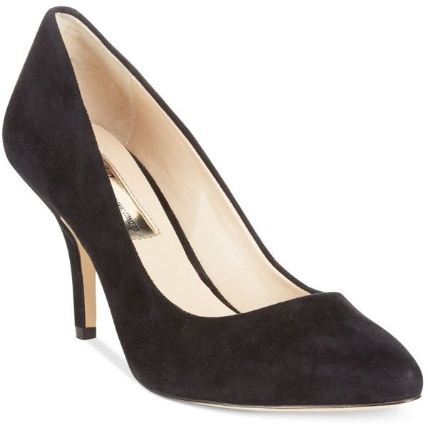Inc International Concepts Women's Zitah Suede Pointed Toe Pumps ($60) ❤  liked on Polyvore