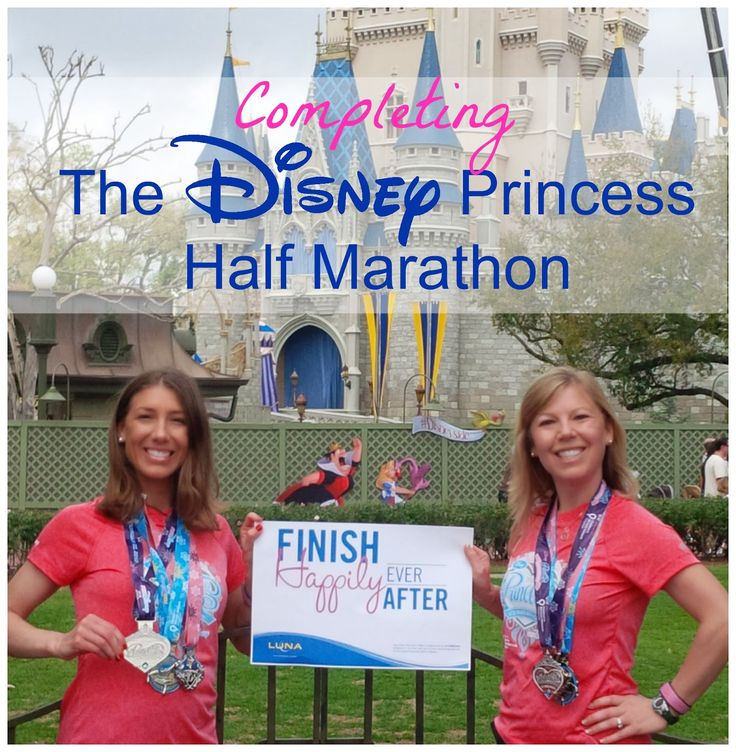 Disney's Princess Half Marathon: Two Runner's Stories from the Run Disney Princess Half Marathon.