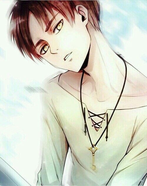 Hey, first post!! A really kwaii drawing of Eren (AOT) U know what,LEVI SEMPAII is mine, M-I-N-E! Ok, relax. Credits to owner