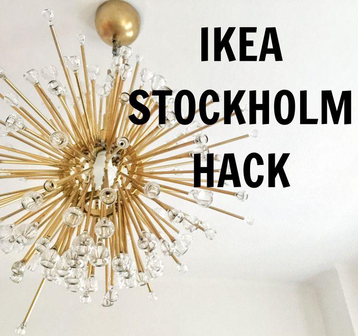 DIY sputnik lamp / lámpa | Kicsi Ház
