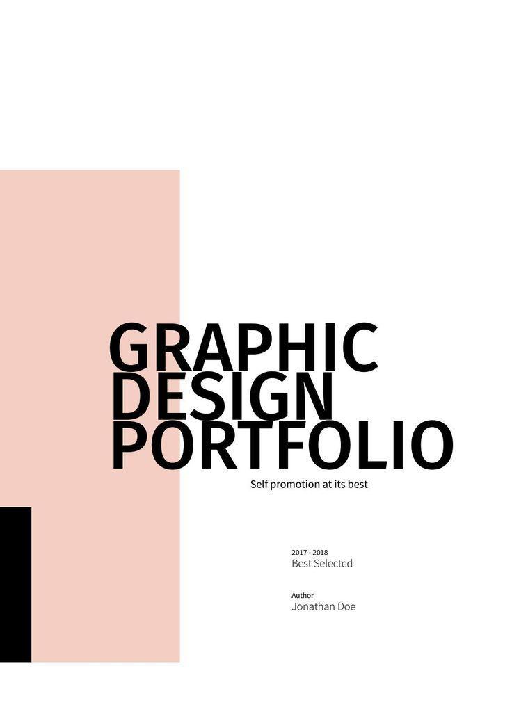 Graphic Design Portfolio Template Design De Portfolio Portfolio