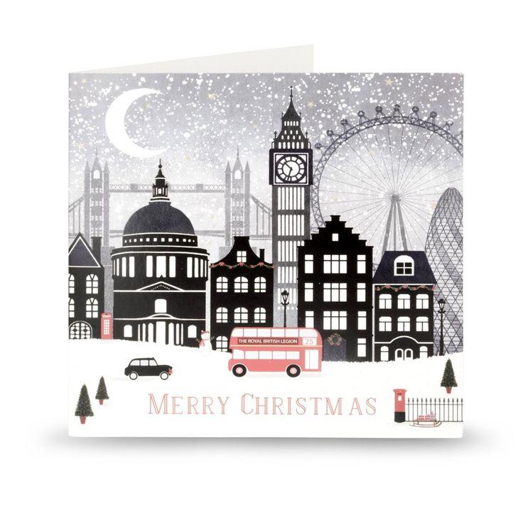 London Skyline Christmas Cards