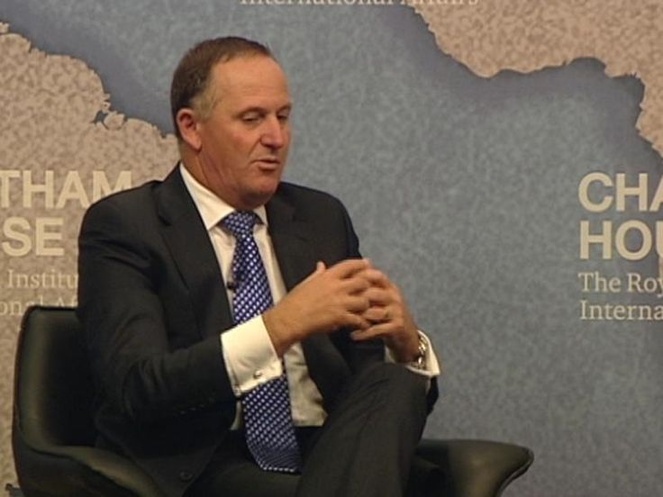 Prime Minister John Key talks about New Zealand being required to contribute to the war on terror as part of the Five Eyes Spy Club.