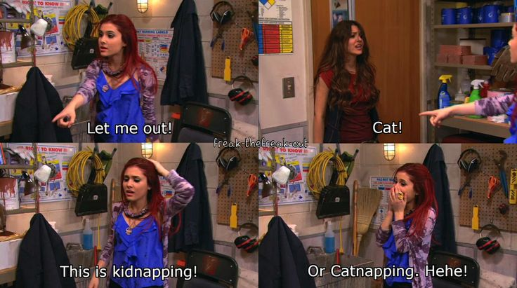 Cat from victorious