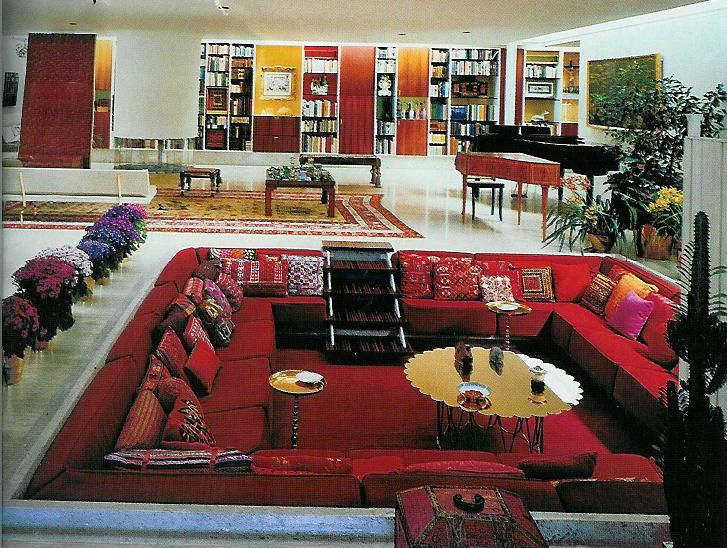 Sunken Living Room My 70s Pinterest I Want My House And Love