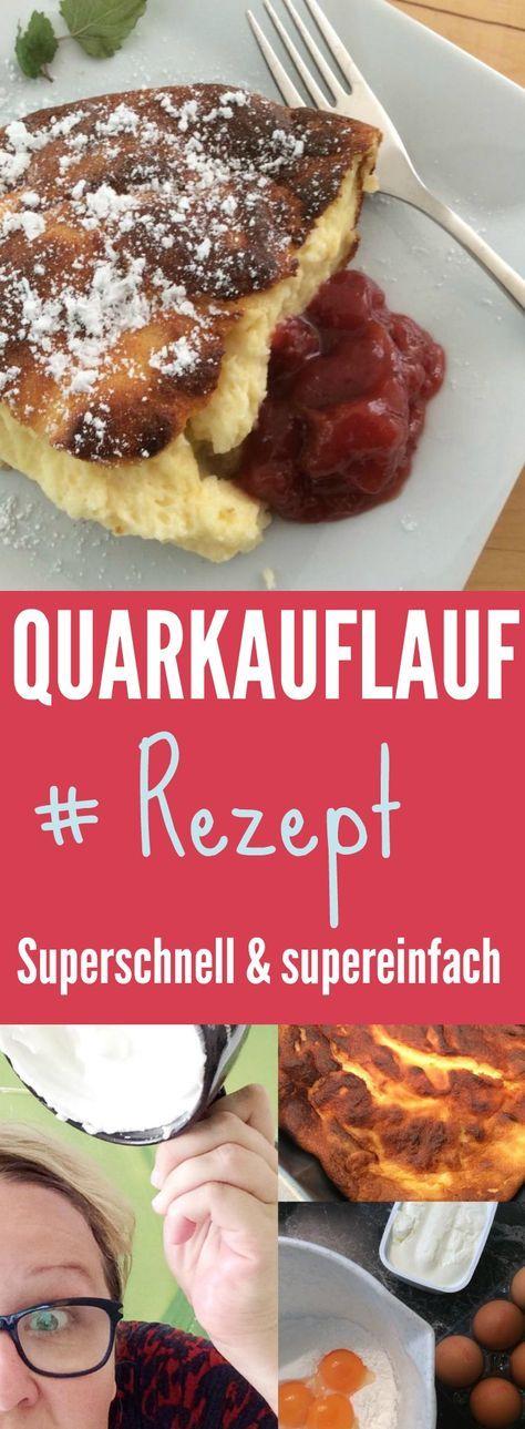 Einfaches Rezept für einen Topfenauflauf, bzw. Quarkauflauf. Deine Kinder werden es lieben! Österreichische Süßspeisen gehen doch immer, oder?