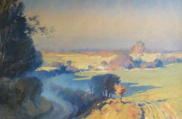 Trevor Chamberlain :Pocket Of Morning Mist, Stoneyhills.