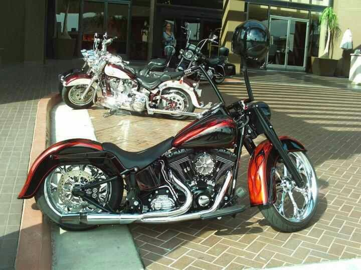 Custom fatboy motorcycle pinterest for How much to paint a motorcycle