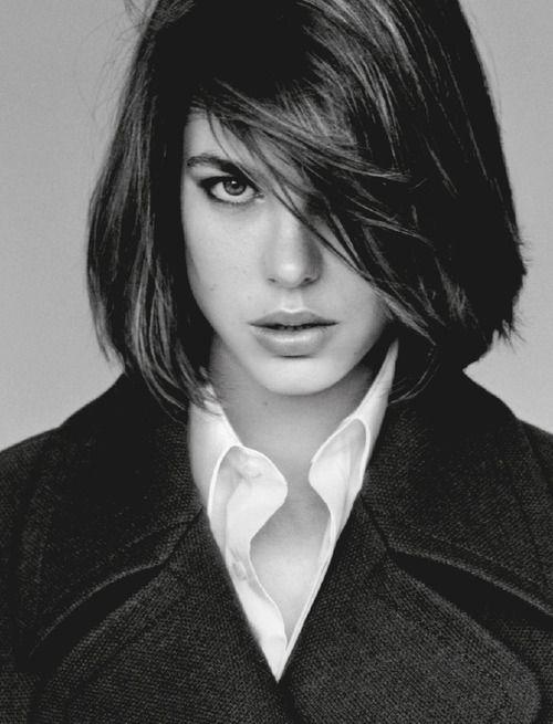 Charlotte Casiraghi, by Alasdair McLellan for Vogue uk