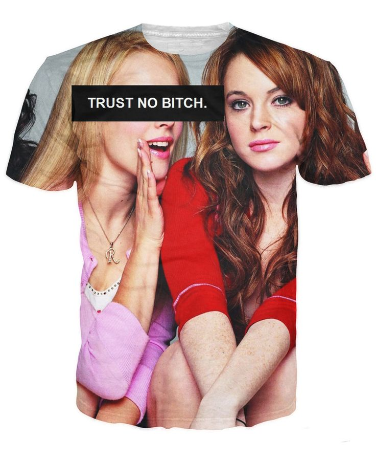 >> Click to Buy << Trust No Bitch Regina George T-Shirt Rachel McAdams Mean Girls Cady Heron Printed 3D T Shirts Mens Womens Summer Tops Tees #Affiliate