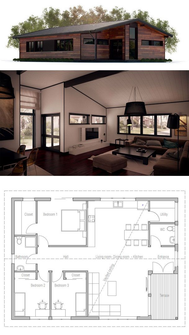 33 best images about two bedroom house plans on pinterest building house design and two. Black Bedroom Furniture Sets. Home Design Ideas