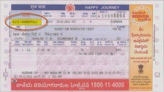 Irctc railway Pnr Status: Irctc PNR Status