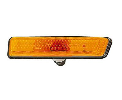 bmw side marker light action crash bm2570109v Brand : Action Crash Part Number : BM2570109V Category : Side Marker Light Condition : New Description : SIDE REPEATER LAMP, LH, W/AMBER LENS, SIDE REPEATER;AMBER;LH;00-4 X5 Note : Picture may be generic, please read description and check fitment notes. Price : $6.75