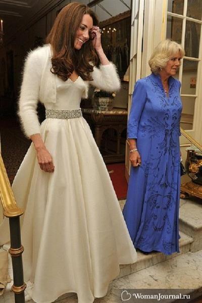 Второе свадебное платье кэтрин миддлтон